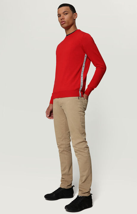 SWEATER, RED, hi-res-1