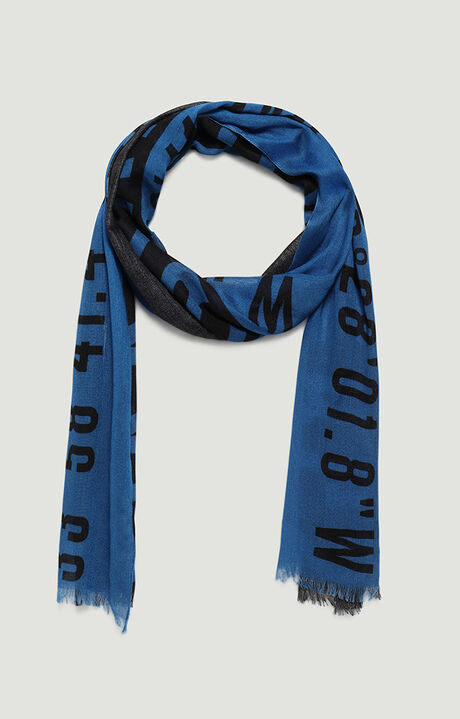 45X180 SCARF, BLUE, hi-res-1