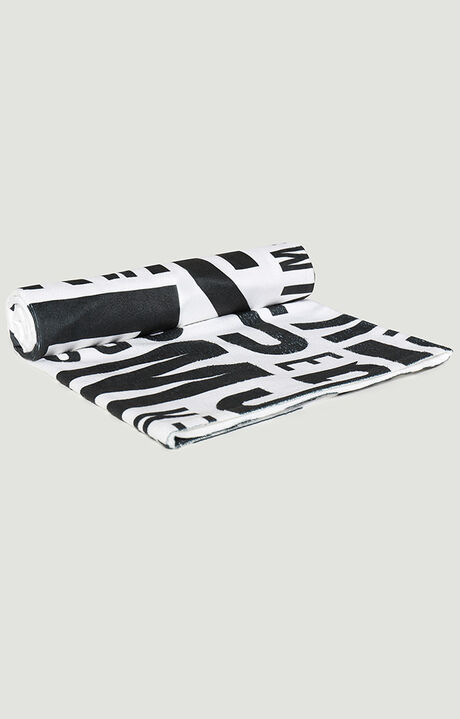 PUZZLE TOWEL 100X160, WHITE, hi-res-1