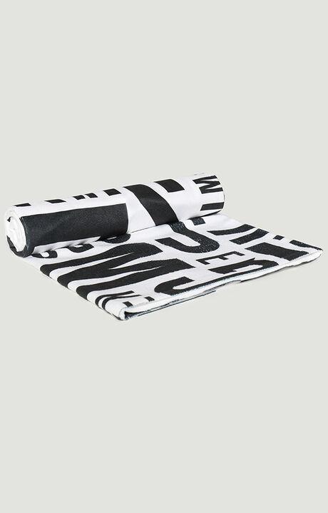 PUZZLE TOWEL 100X160, WHITE, hi-res-1