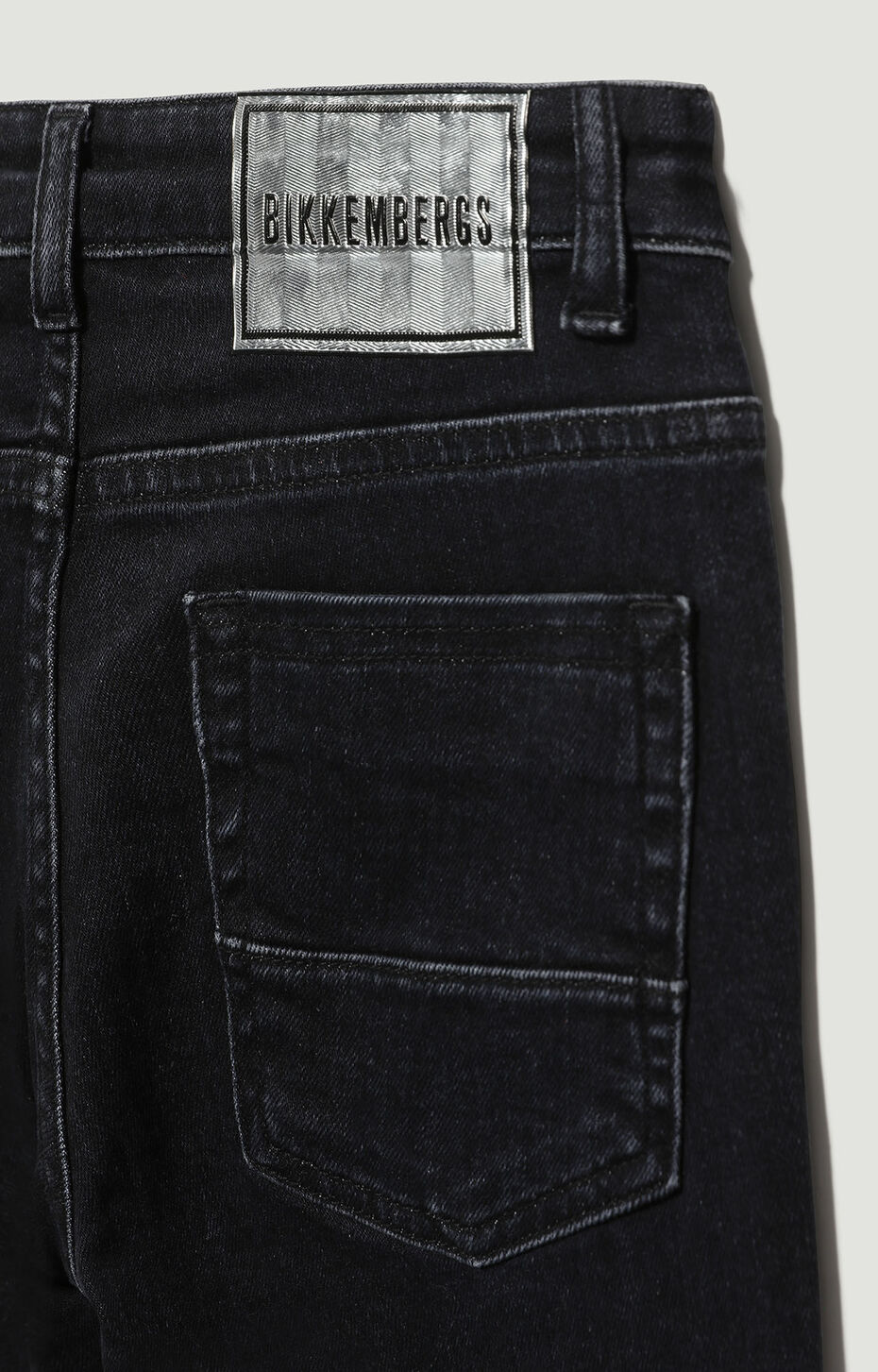 DENIM TROUSERS, Nero Denim, hi-res-1