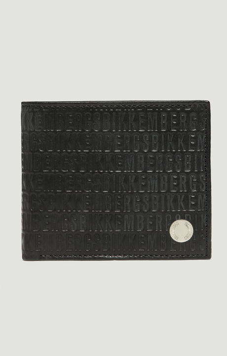 MINI BILLFOLD 5 C/C +CP ALL OVER WALLET, BLACK, hi-res-1