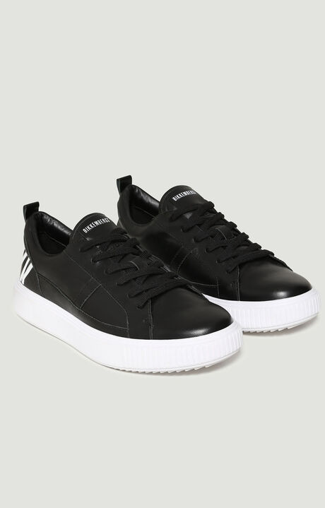 CALLUM  -  LOW TOP LACE UP, Black, hi-res-1