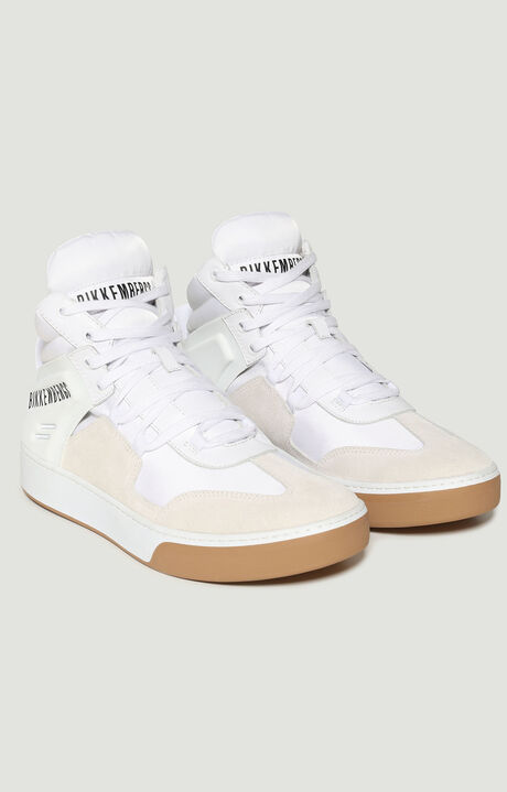 BALKAN  -  HIGH TOP LACE UP, White, hi-res-1