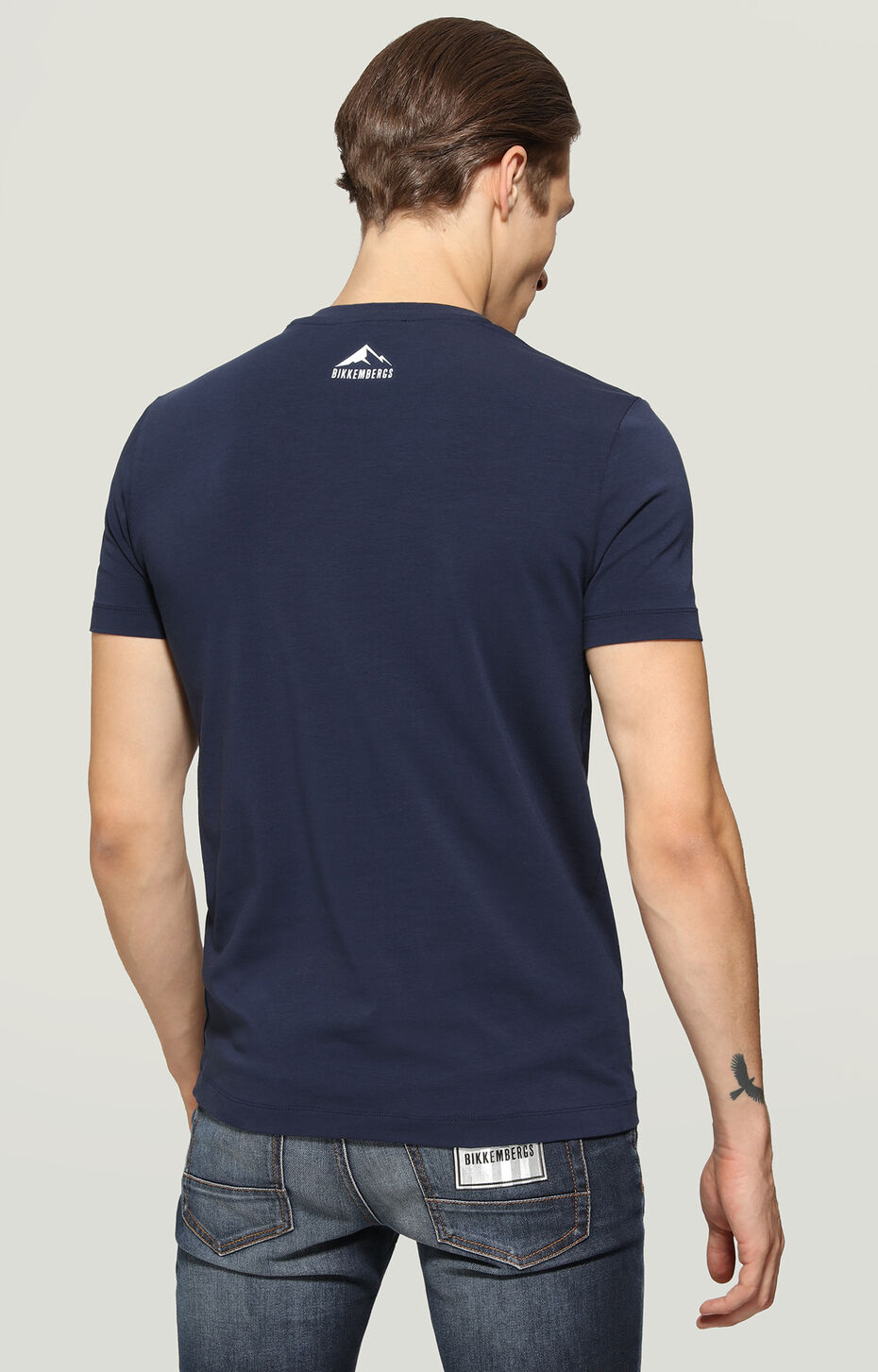 T-SHIRT, Blue, hi-res-1