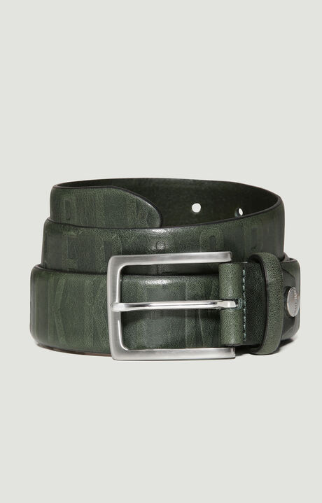 MAN BELT 3,5 CM, Темно-Зеленый, hi-res-1