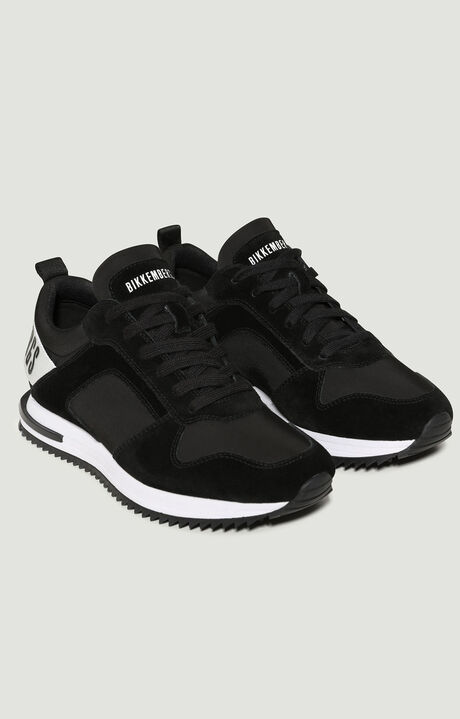 HECTOR  -  LOW TOP LACE UP, Black, hi-res-1