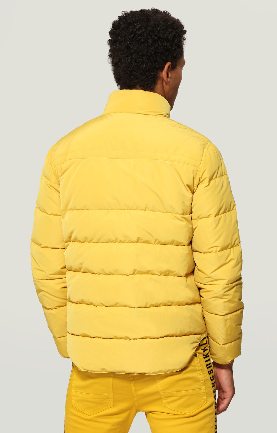 DOWN JACKETS, Yellow, hi-res-1