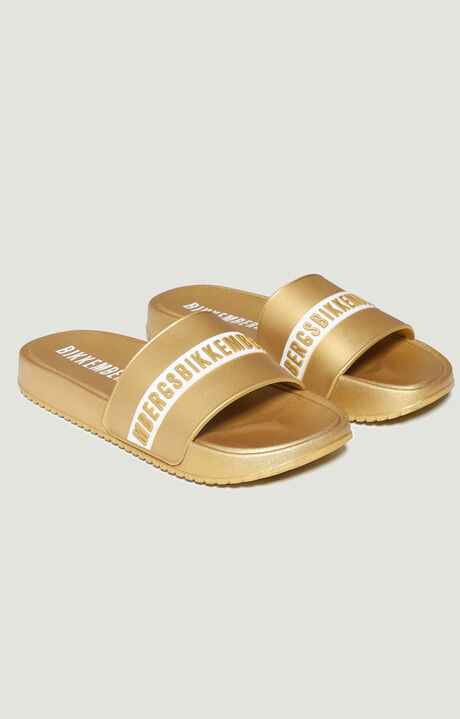 SANDALS, YELLOW, hi-res-1