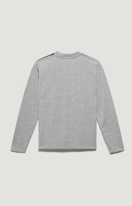 T-SHIRT, Grey Melange, hi-res-1