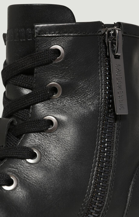 SAORY  -  LACE UP BOOTIE, Black, hi-res-1