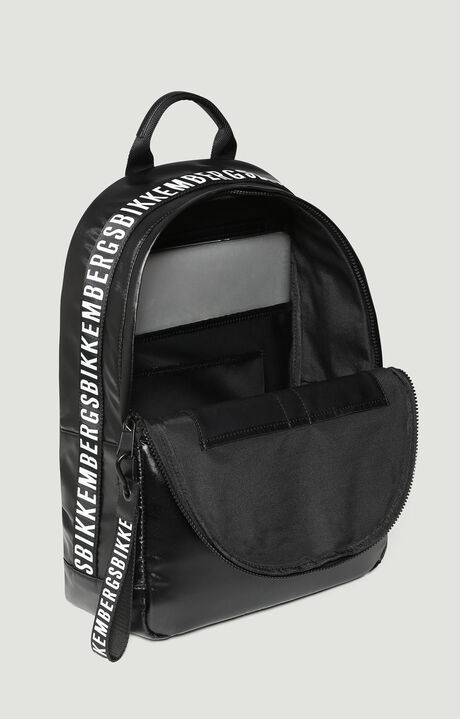 BACKPACK COATED 006, BLACK, hi-res-1
