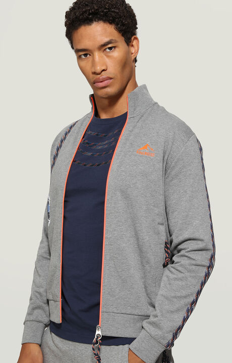 JACKET, Grey Melange, hi-res-1