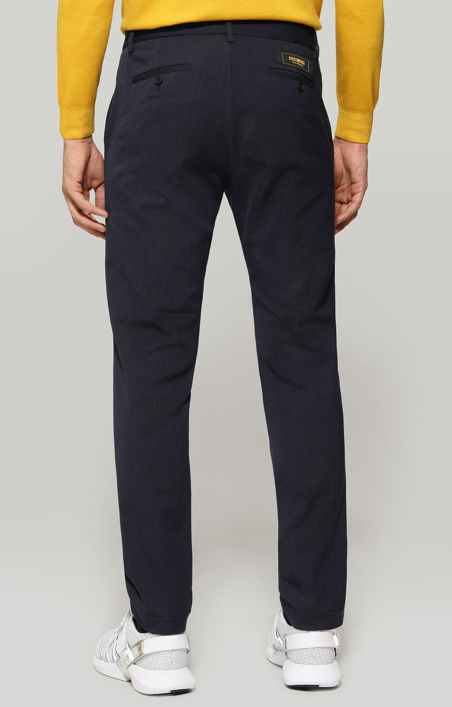 TROUSERS, Navy, hi-res-1