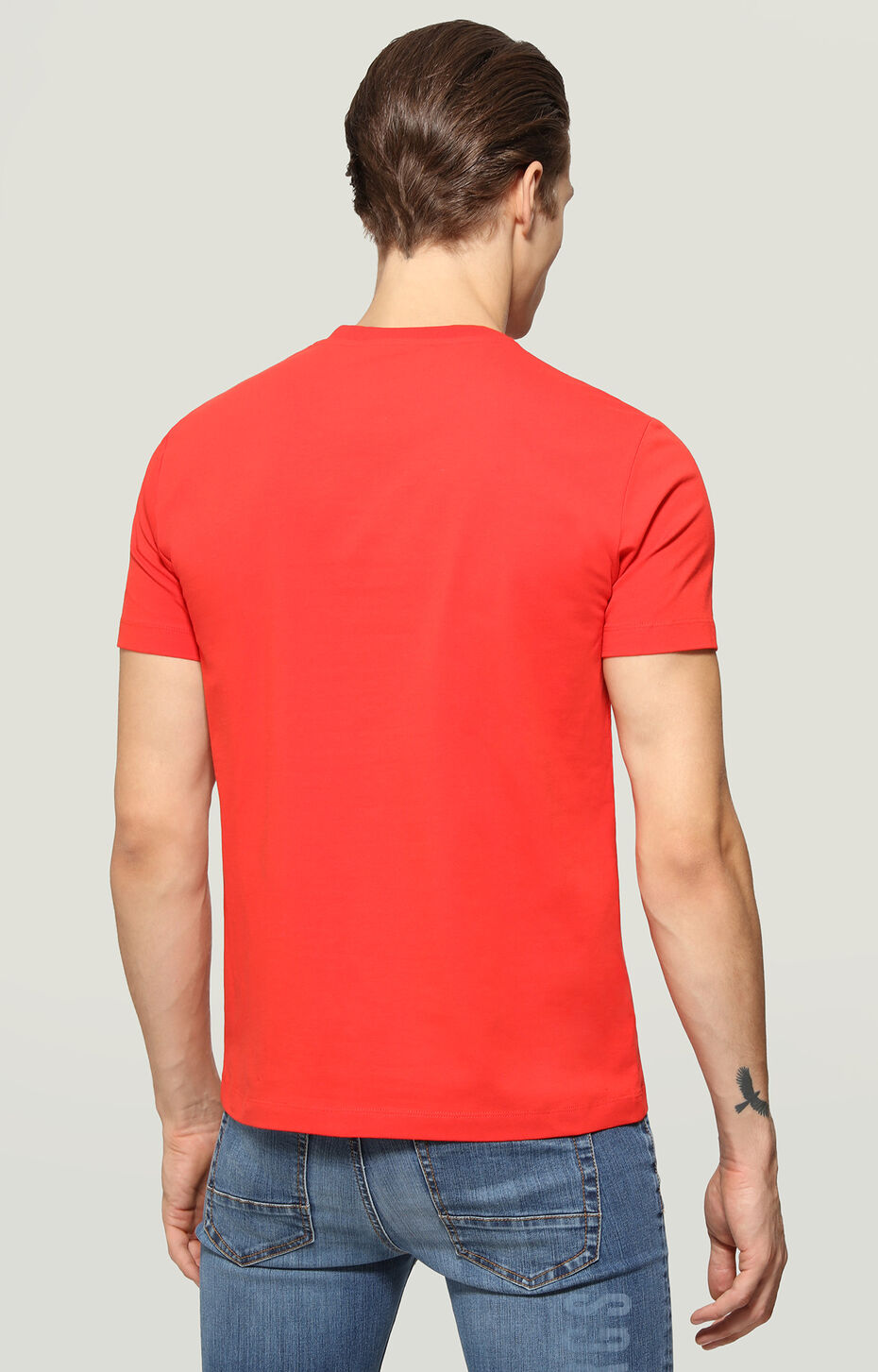 T-SHIRT, Rouge, hi-res-1