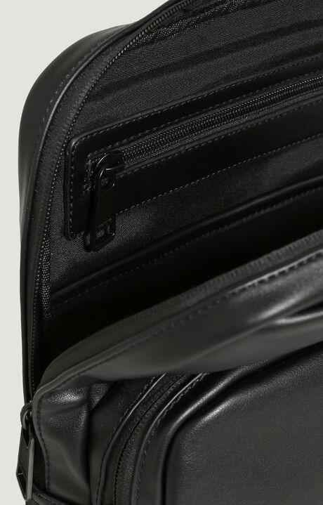 CROSSBODY BAG WHITE LABEL, BLACK, hi-res-1