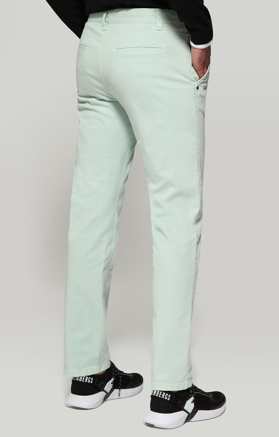 TROUSERS, GREEN, hi-res-1