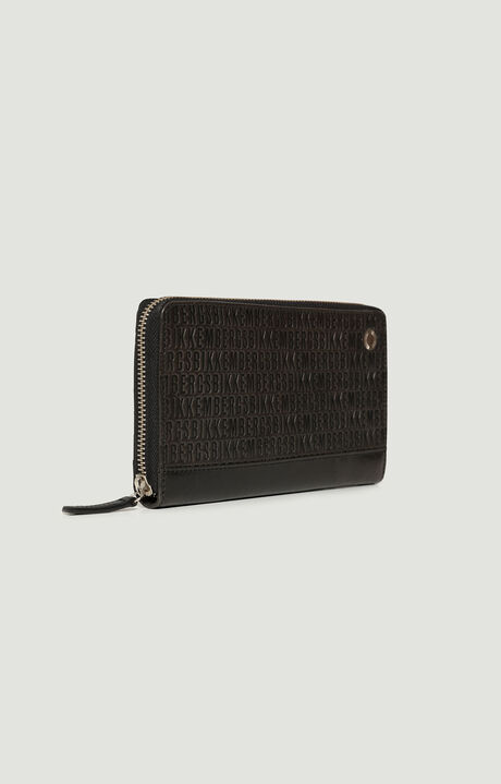 ZIPPED WALLET ALL OVER, Noir, hi-res-1