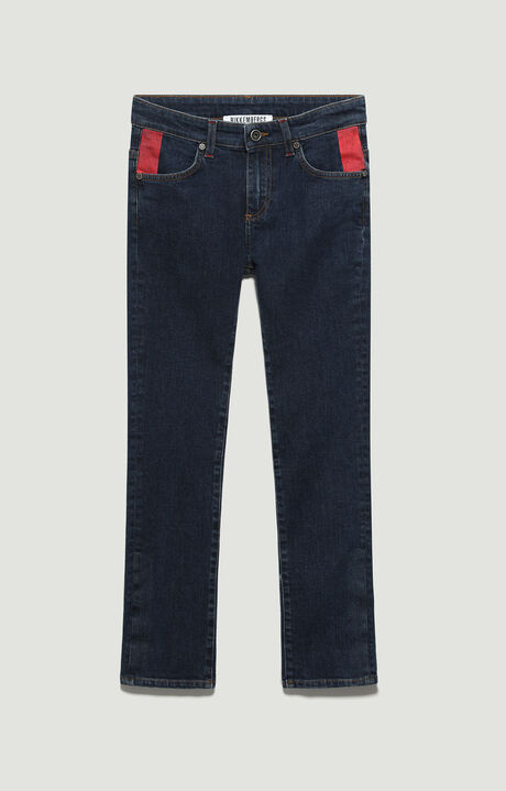 DENIM TROUSERS, Denim Color Red, hi-res-1