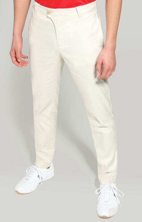 TROUSERS, WHITE, hi-res-1