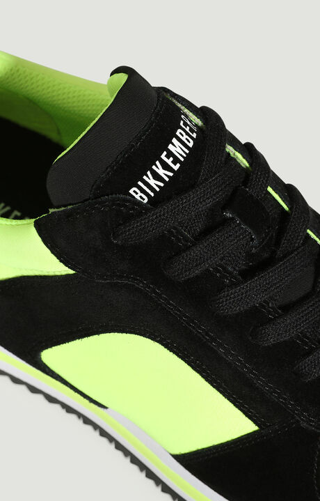 HECTOR  -  LOW TOP LACE UP, Amarillo Fluorescente/Negro, hi-res-1