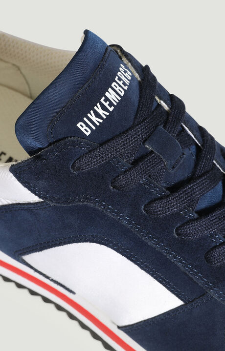 HECTOR  -  LOW TOP LACE UP, White/Navy, hi-res-1