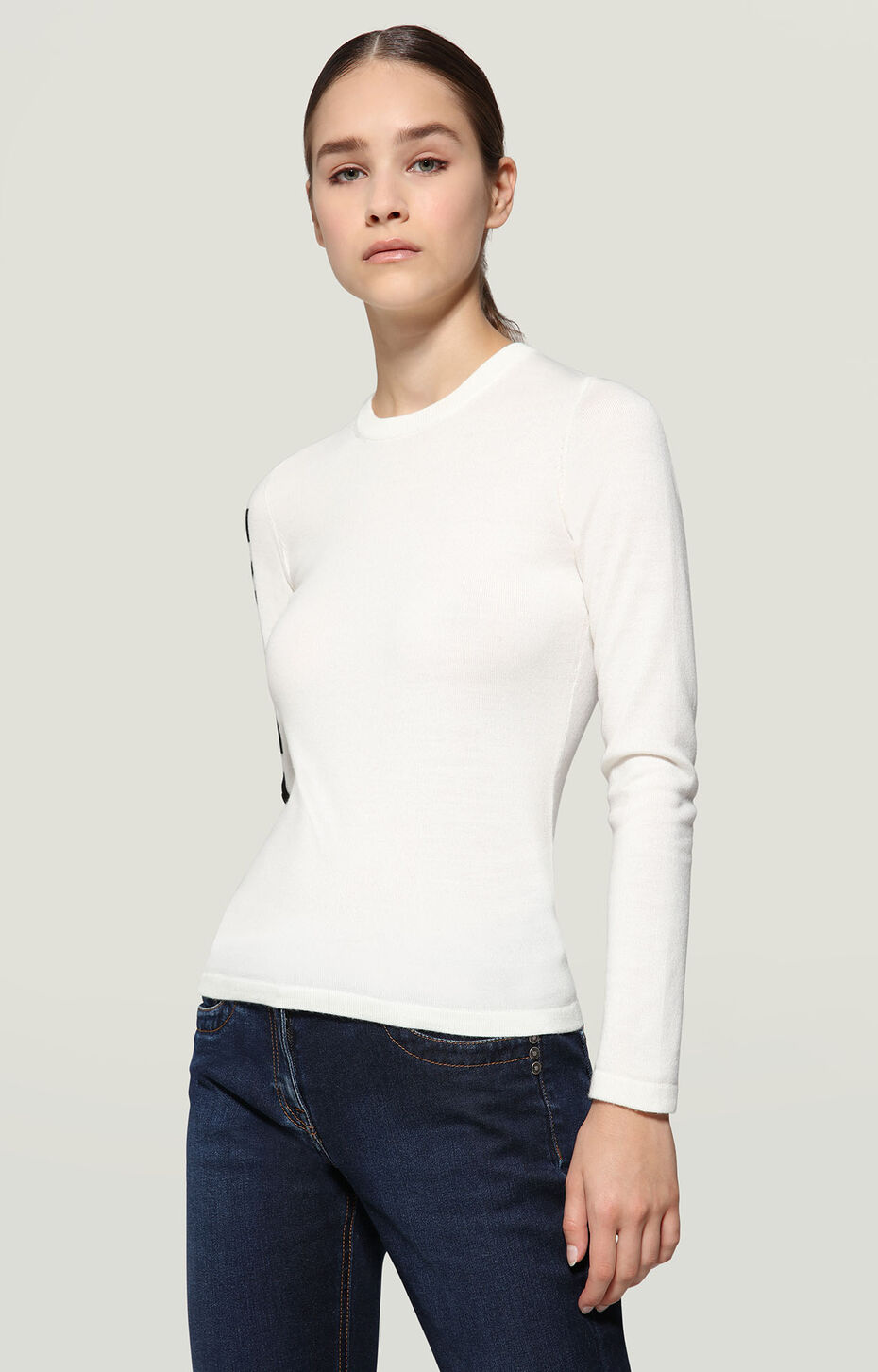 SWEATER, WHITE, hi-res-1