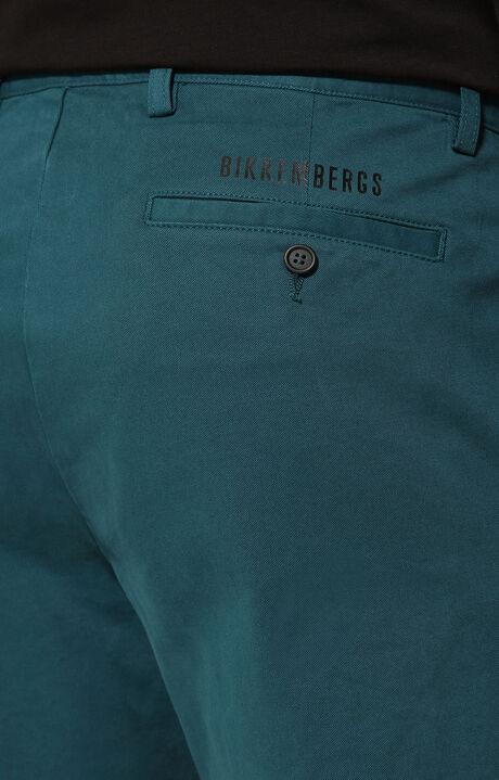 TROUSERS, Bleu Pétrole, hi-res-1
