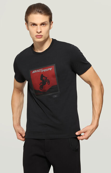 T-SHIRT, Black, hi-res-1