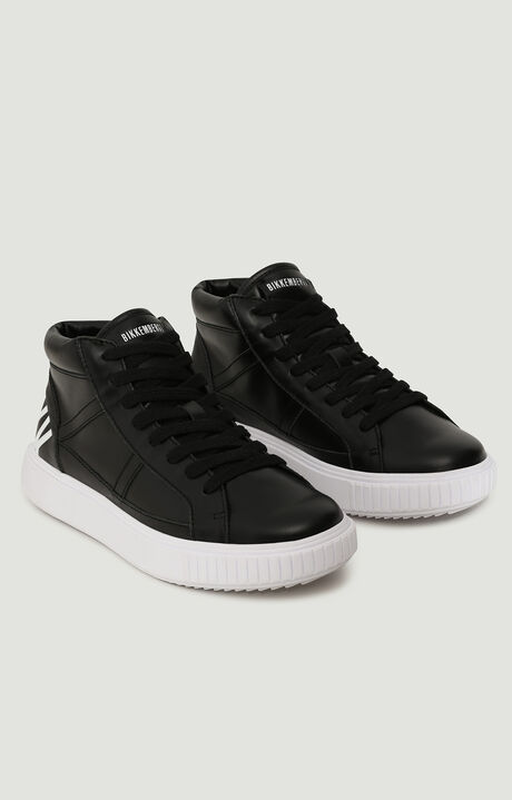 CIBELES  -  HIGH TOP LACE UP, Black, hi-res-1