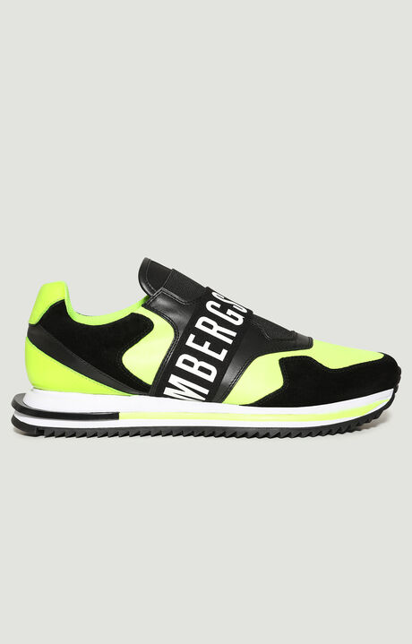 HALED  -  SLIP ON, Yellow Fluo/Black, hi-res-1