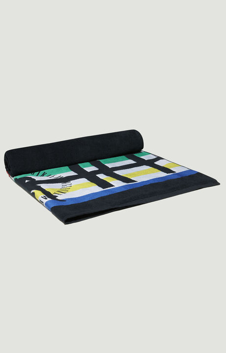 PUPINO TOWEL 100X170, BLACK, hi-res-1