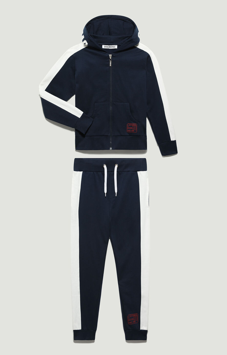 FLEECE TRACKSUIT, Blue, hi-res-1