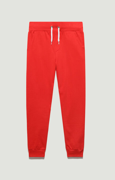 FLEECE TROUSERS, Rosso, hi-res-1
