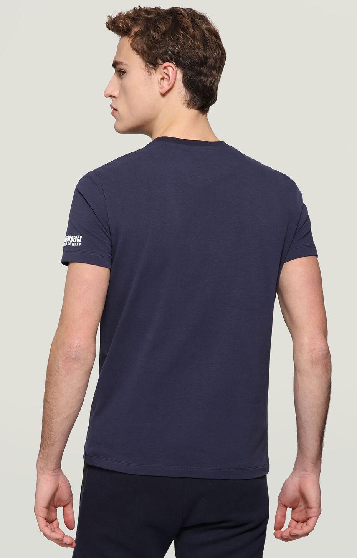 T-SHIRT, BLUE, hi-res-1