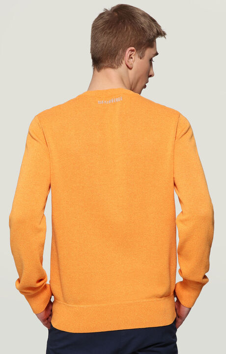 SWEATER, ORANGE, hi-res-1
