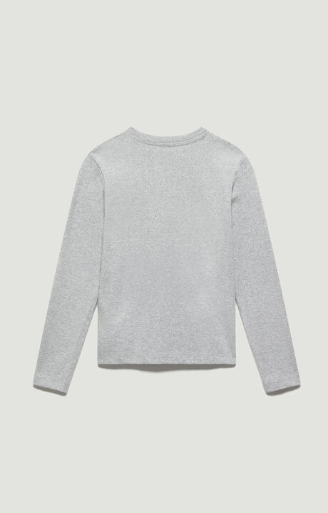 T-SHIRT, Grey Melange, hi-res-1