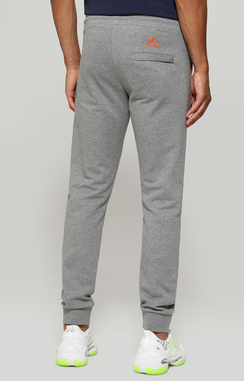 FLEECE PANTS, Grey Melange, hi-res-1