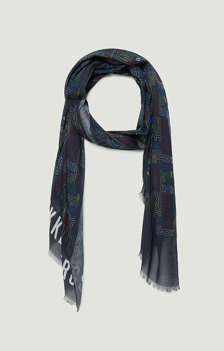 70X180 SCARF.., BLUE, hi-res-1