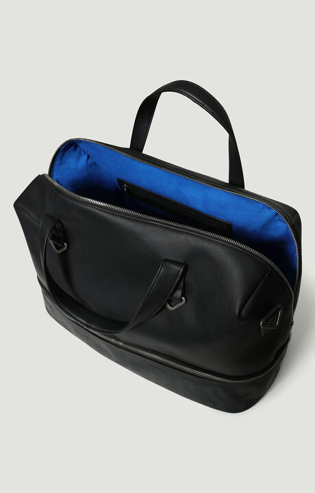 DUFFLE BAG STRIP, Черный, hi-res-1
