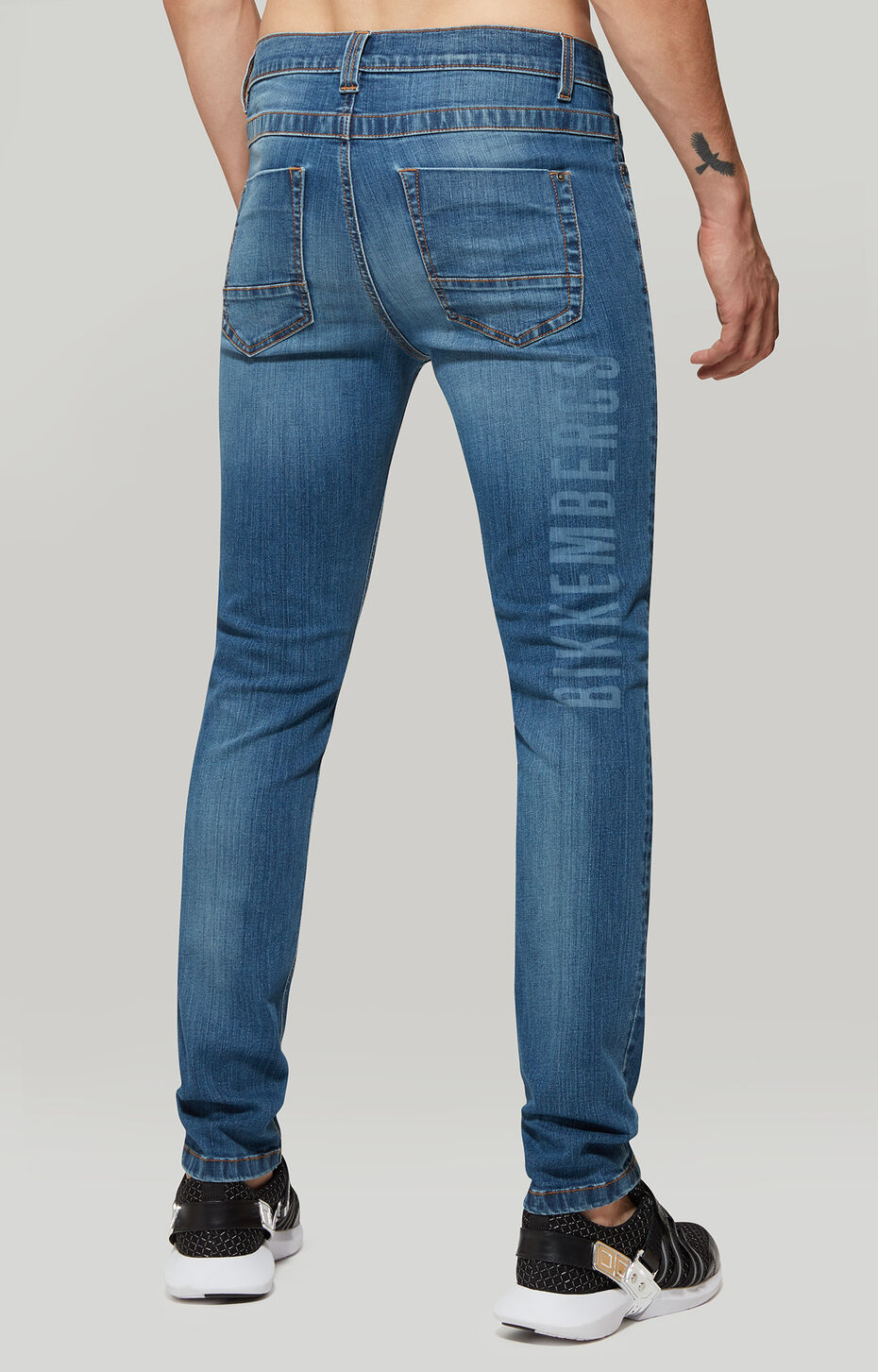 TROUSERS DENIM, Blue Denim, hi-res-1