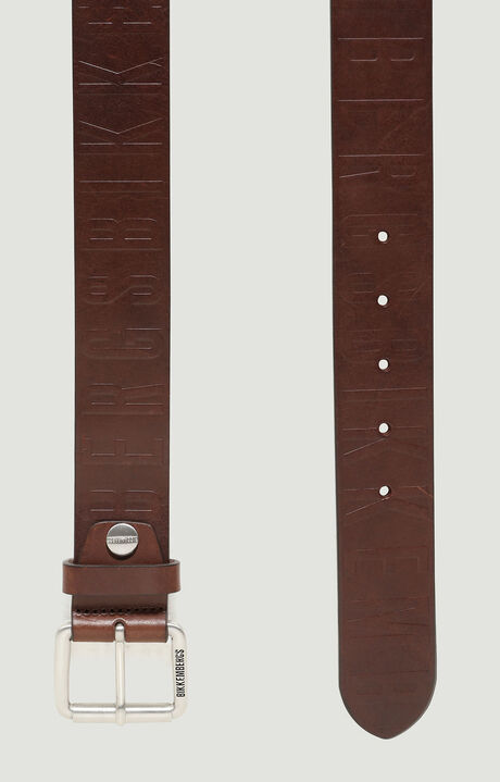 MAN BELT 4 CM, Dark Brown, hi-res-1