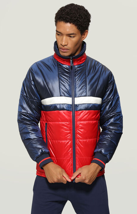JACKET, Red/Navy/White, hi-res-1
