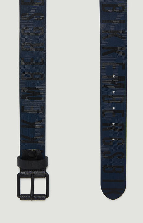 MAN BELT 4 CM, Black/Navy, hi-res-1