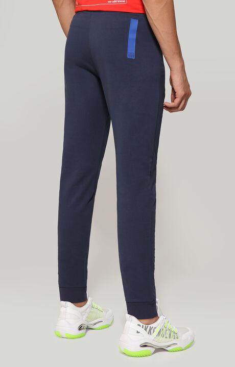 FLEECE PANTS, Navy/Bluette, hi-res-1