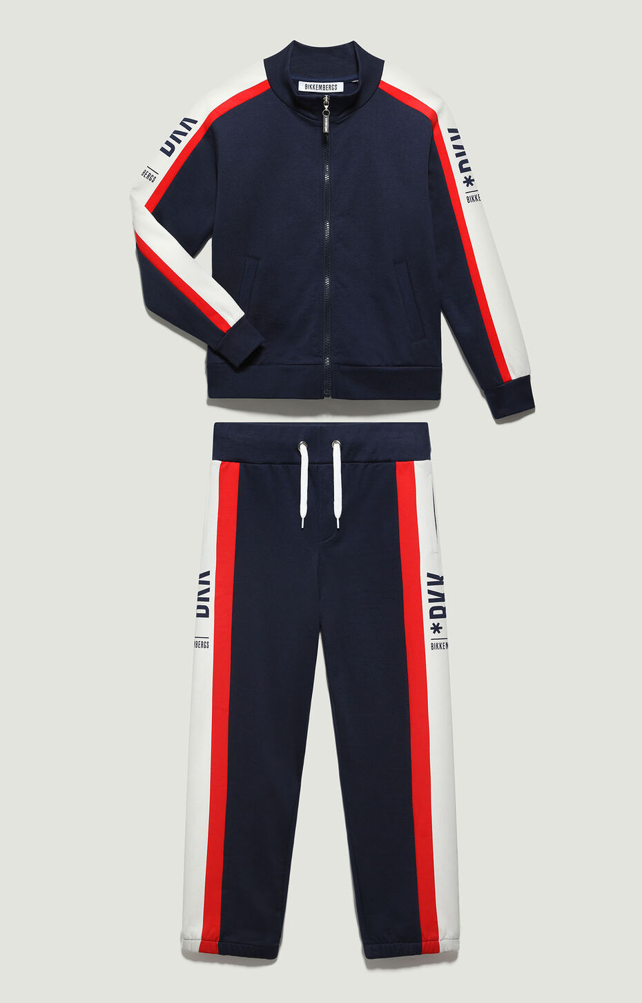 FLEECE TRACKSUIT, Bianco-Latte, hi-res-1