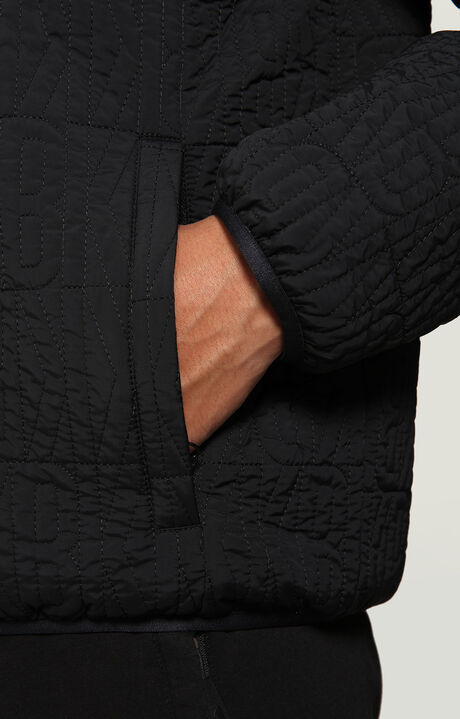 ALLOVER BKK QUILTED JACKET, BLACK, hi-res-1