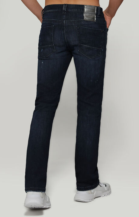 DENIM SLIM FIT, STRETCH BLUE DENIM, hi-res-1