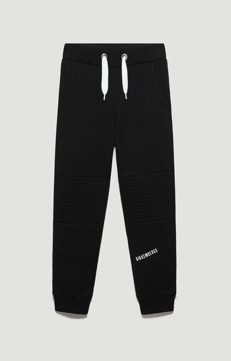 FLEECE TROUSERS, Noir, hi-res-1
