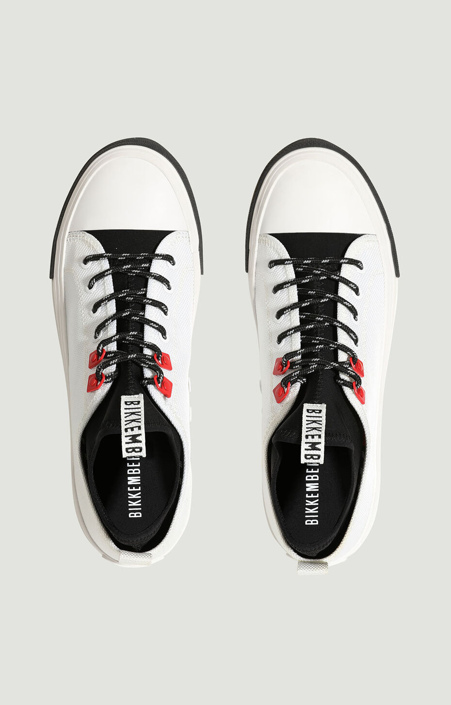 AMOLD  -  LOW TOP LACE UP, White/Black, hi-res-1
